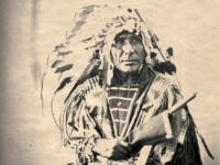 Photo of Native American tribal member, circa late-19th century, courtesy of IRCICA