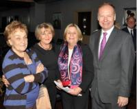 Rep. Ros-Lehtinen with her second cousins and TCA President G. Lincoln McCurdy at the Ritz-Carlton in Istanbul. Photo credit: Hurriyet Daily News