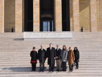 TCA's 12th Congressional delegation led by Congressman Frank Guinta (R-NH/1st) at Anitkabir, Ataturk's Mausoleum, in Ankara, Turkey