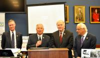 Members of Congress at the Reception: Steve Stivers (R-OH), Gene Green (D-TX), Steve Chabot (R-OH) and Bill Pascrel (D-NJ)