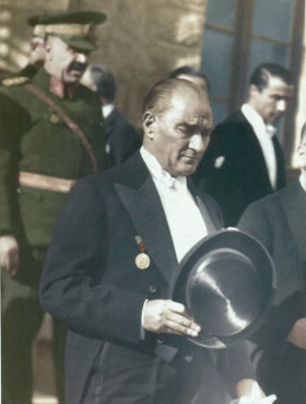 Commemorating the 90th Anniversary of the founding of the Turkish Republic