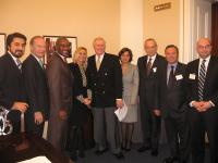 Congressman Dan Burton and Congressman Gregory W. Meeks with TUSIAD and TCA Representatives