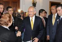 Kilicdaroglu meets members of Congress