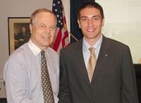 Congressman Whitfield and Yenal Kucuker.