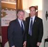 Congressman Wexler with Rifat Sivisoglu